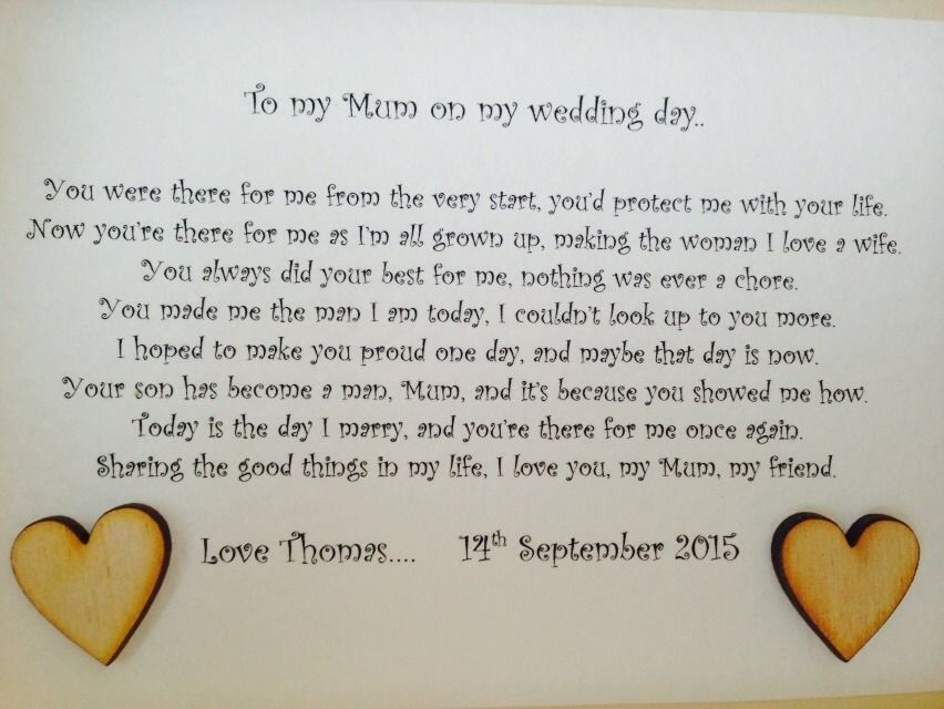 shabby personalised chic box frame present mother of the bride gift